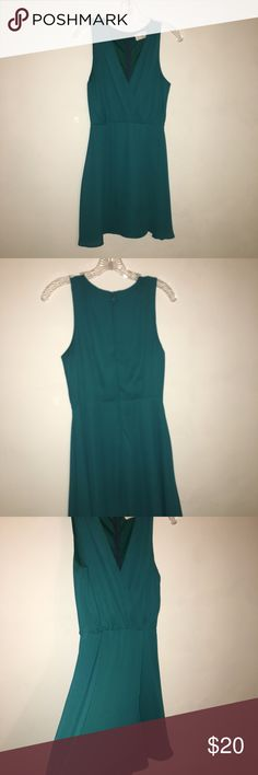 Selling this Flirty Dark Teal Dress on Poshmark! My username is: jwetterau14. #shopmycloset #poshmark #fashion #shopping #style #forsale #Everly #Dresses & Skirts