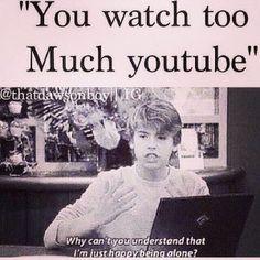 Youtube fangirl