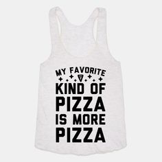 Show off your love of pizza with this adorable, pizza lover's, food pun shirt…