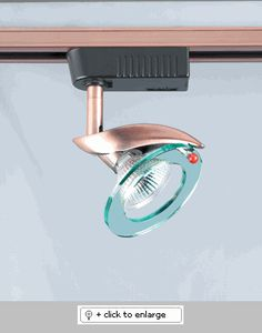 """TR602- CLEAR ACRYLIC GLASS-SOPHIA 12V TRACK HEAD    """"Please Click on the Picture under Schematic to see Detail Information on Track Light""""    Hanging Systems  TR 3-Wire Single Circuit Track System: Halo compatible, Most commonly used.     JR 2-Wire Single Circuit Track System: Juno compatible, used for special applications.  Regular price: $67.50  Sale price: $48.60"""