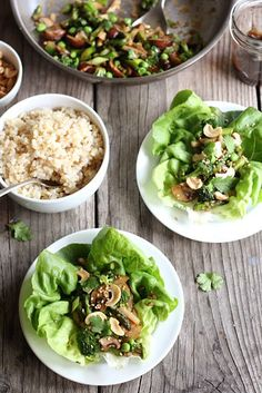 Spring Veggie Asian Lettuce Wraps | 12 Recipes That Are As Fun To Make As They Are To Eat