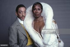 Dancers Judith Jamison and Gregory Hines in costume for their starring roles in 'Sophisticated Ladies' on Broadway photographed in 1980.