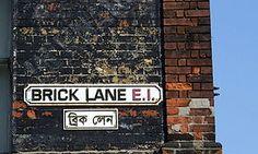 Brick Lane, London. Famous for the street art.