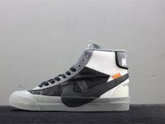 69f427d2f Off White x Nike Blazer Mid OW Grey AA3832-008 New Nike Air