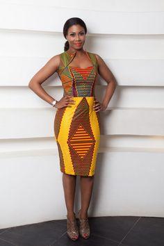 Africanprint ~African fashion, Ankara, kitenge, African women dresses, African p… African Fashion Ankara, Ghanaian Fashion, African Inspired Fashion, African Print Fashion, Africa Fashion, Ethnic Fashion, Fashion Prints, Men's Fashion, Nigerian Fashion