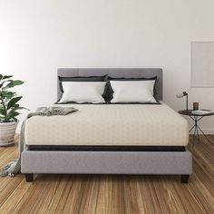 Amazing offer on Ashley Furniture Signature Design - 12 Inch Chime Express Memory Foam Mattress - Bed Box - King - Firm Comfort Level - White online - Nicetopnice Queen Memory Foam Mattress, King Size Mattress, Pillow Top Mattress, Queen Mattress, Best Mattress, Mattress Pad, Full Mattress, Mattress Dimensions, Box Bed