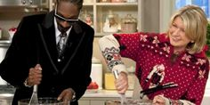Martha Stewart and Snoop Dogg to host reality show on VH1. They will cook, maybe even bake, and host their famous friends.