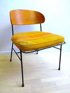 Luther Conover Chair Estate Sale In Oakland In 1985. All Original Material