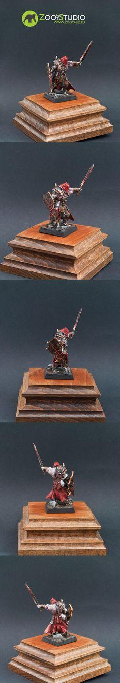 Marauder Warlord, Avatars of War Painted by Bear from Zoo Art Studio