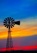 Kansas windmill