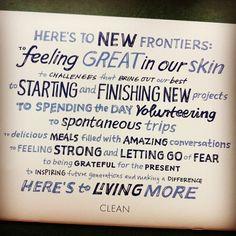 CLEAN program review via @bexlife