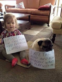 Funny baby and dog picture - http://jokideo.com/funny-baby-and-dog-picture/