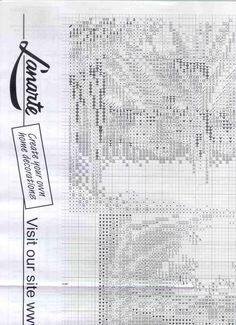 Cross stitch pattern,Toscana 9 of 9.