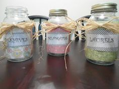 Savvy and Sleek: Young Women's personal progress jars