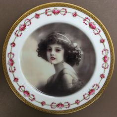 Lilith The Vampire Girl Plate by Beat Up Creations