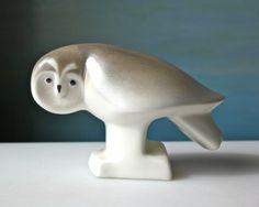 Scandinavian Pottery by domestikate Ceramic Owl, Vintage Ceramic, Metal Animal, Century Textiles, Owl Ornament, Vintage Birds, Owl Art, Vintage Textiles, Scandinavian Design