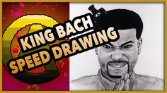King Bach speed drawing by grafinx art #art #drawing #video #speed #timelapse #portrait