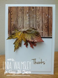 HLS October Mixed Media Challenge ~ Happy Little Stampers
