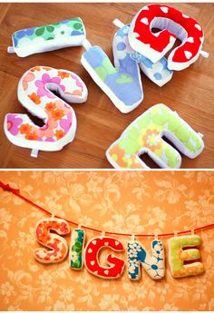 omg love this! would love to have bradleys name done like this for the nursery