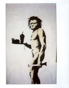 Neanderthal by Bansky