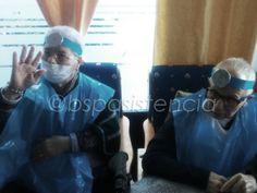 Centres en Directe #Carnestoltes: Ens hem disfressat de metge/cirujanos Equip BSP Asistencia