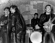 The Beatles Through the Years Pictures - Beatles Timeline: 1961: Beatles at the cavern club | Rolling Stone