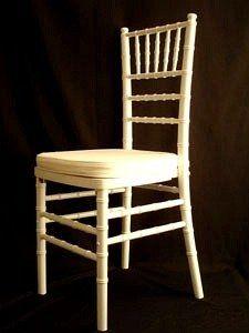 Best of...white chiavari chair for reception