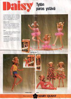 Katariinan Nukkemaa - www.nukkemaa.net Childhood Toys, Childhood Memories, Vintage Dolls, Retro Vintage, Mary Quant, Dawn Dolls, Good Old Times, Old Toys, Lps