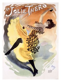 La Jolie Thero Giclee Print by PAL (Jean de Paleologue) - AllPosters.co.uk