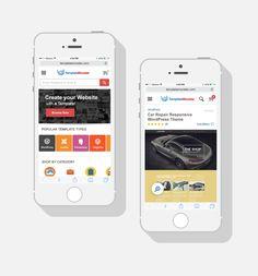 New  Mobile TemplateMonster Website Version #ReStyle http://www.templatemonster.com/?utm_source=pinterest&utm_medium=timeline&utm_campaign=mobrest