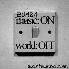 Zumba on, lets do it!