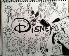 Drawings & Disney by Clarissa787 on We Heart It
