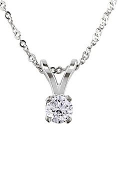For her: Diamond necklace