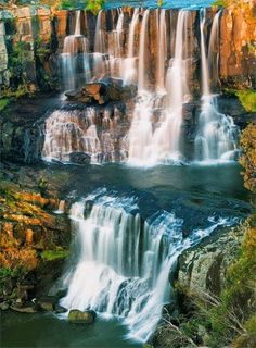 Ebor Falls, Australia. @Charity Scheel you should go here