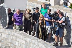 Lena Headey On The Set Of Game Of Thrones In Dubrovnik - Google Search