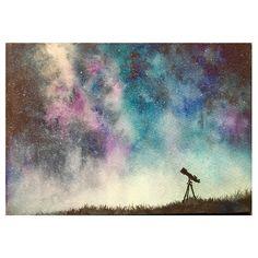『星の海 -Sea of stars-』 watercolor/waterford paper 237×158mm/2016 . . . . #watercolor #watercolors #watercolorartist #watercolorpainting #watercolorart #stars #milkyway #nightsky #landscape #landscapepainting #sky #sketch #transparentwatercolor #acuarela #illustration #artwork #painting #drawing #instaart #instaartist #fineart #水彩画 #水彩 #透明水彩 #風景 #風景画 #星 #星空 #空 #夜空