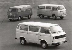 VW typ 2 (T1, T2 y T3) 40 años del Typ 2. 1990.
