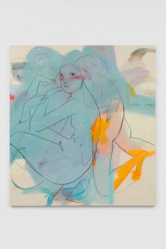 Available for sale from Simon Lee Gallery, France-Lise McGurn, White wine Oil, acrylic and spray on canvas, 220 × 200 × cm Royal Academy Of Arts, Artist Gallery, Mixed Media Collage, Life Drawing, Art Fair, Op Art, Art For Sale, White Wine, Contemporary Art