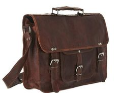 Best brown leather messenger bags for men by leatherartist1, $30.00