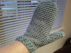 easy crocheted mittens