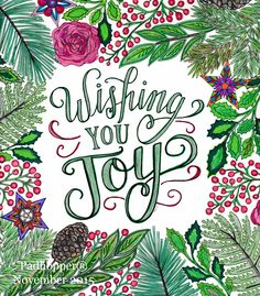 This page is from Mary Tanana Christmas to Color Coloring Book. This is the image that I coloured to use on my 2015 holiday greeting cards.   #marytanana #christmastocolor #adultcolouring #crayola #colouredpencils #markers