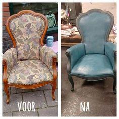 Tips voor het verven van een stoffen stoel met Chalkpaint van Annie Sloan | Tips & Adviezen | `t Bakhuus, binnen- en buitendecoratie