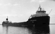 Arthur M. Anderson, last ship to have contact with the Edmund Fitzgerald before it sank in November 1975.