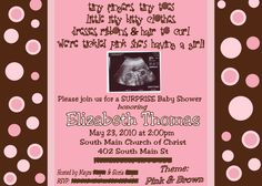 Baby Shower Invitations…