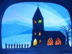 Weihnachtsfiguren - Das Weihnachtslied. - ein Designerstück von art4windows bei DaWanda