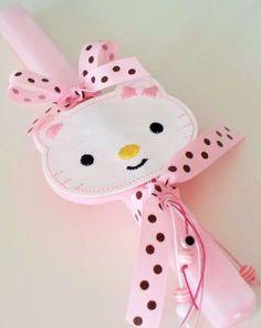 """Elli"" Handmade Creations Hello Kitty, Easter, Candles, Handmade, Hand Made, Easter Activities, Candy, Candle Sticks, Handarbeit"