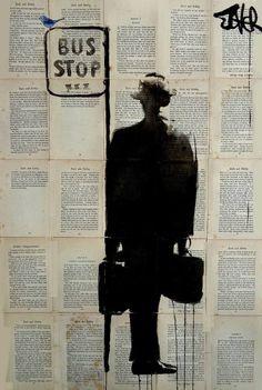 bus stop, Loui Jover
