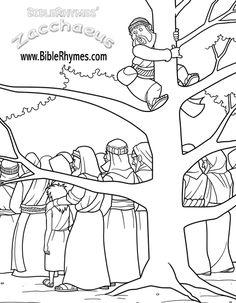 preschool crafts for zacchaeus | zacchaeus jumps to see jesus jesus sees zacchaeus