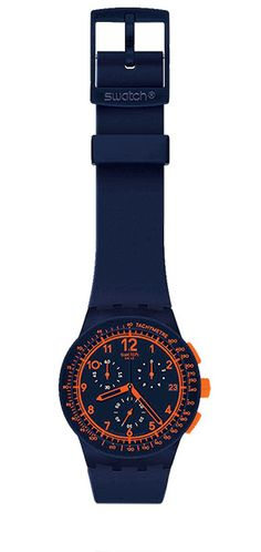 Chrono plastic swatch watch.... swatch watches were so in when I was a teengager... I like this one!
