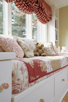 Charming French Country Window Seat